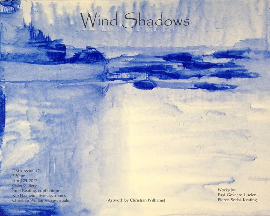 wind shadows flyer